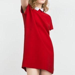 Zara collared dress